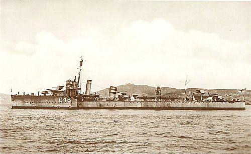 HMS VIDETTE