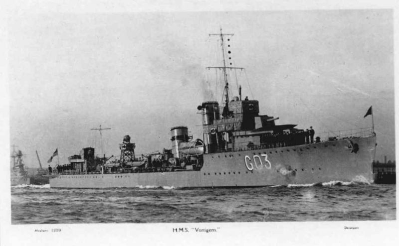 HMS VORTIGERN